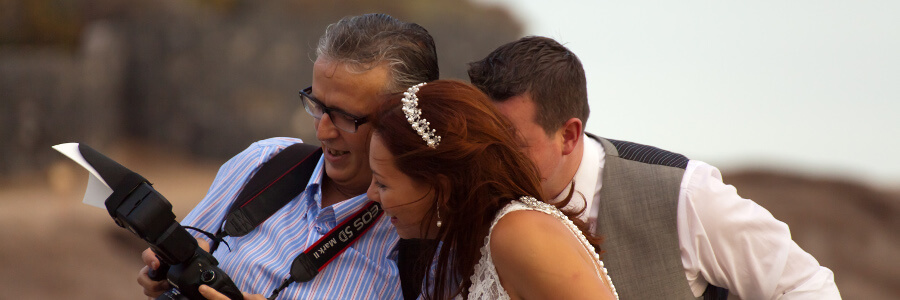 Photographers & Videographers Tenerife Weddings